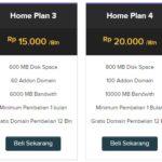 Beli hosting dapat domain gratis