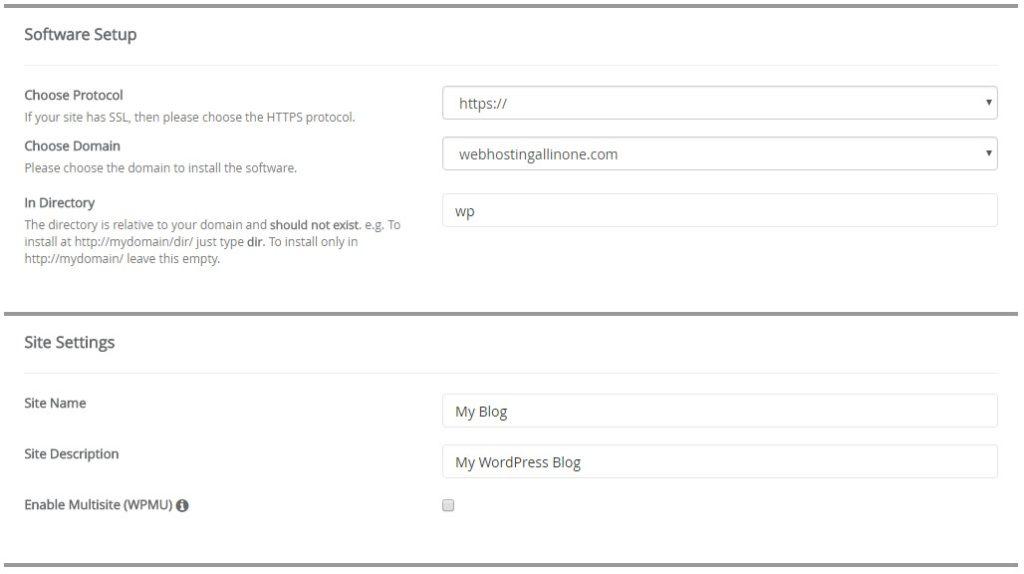 tahapan install wordpress di hosting