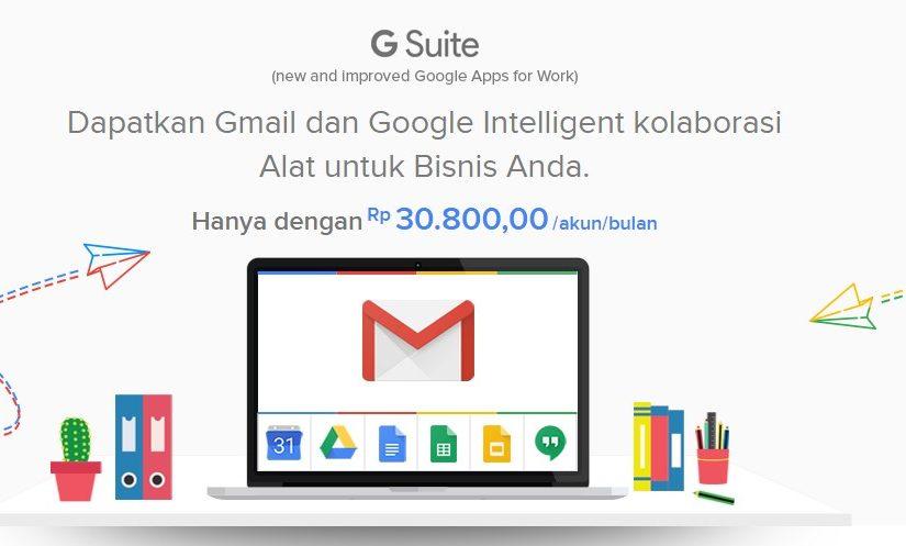 Gmail Dengan Domain Sendiri