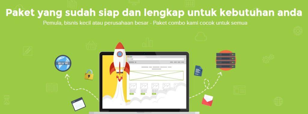 paket kombo web hosting