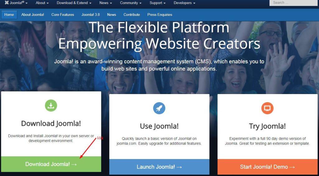 Cara Membuat Website Dengan Joomla 2