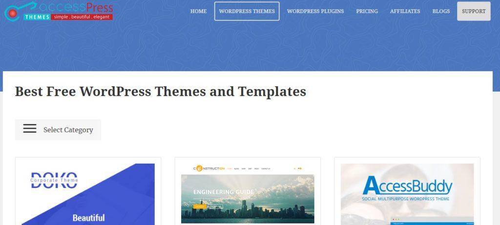 Website Penyedia Template Web Gratis Berkualitas 3