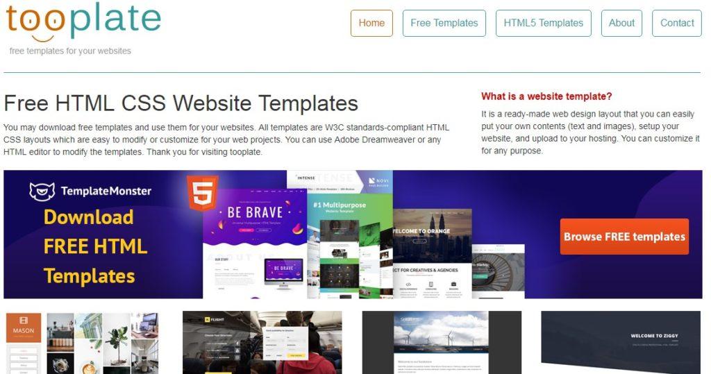 Website Penyedia Template Web Gratis Berkualitas 4