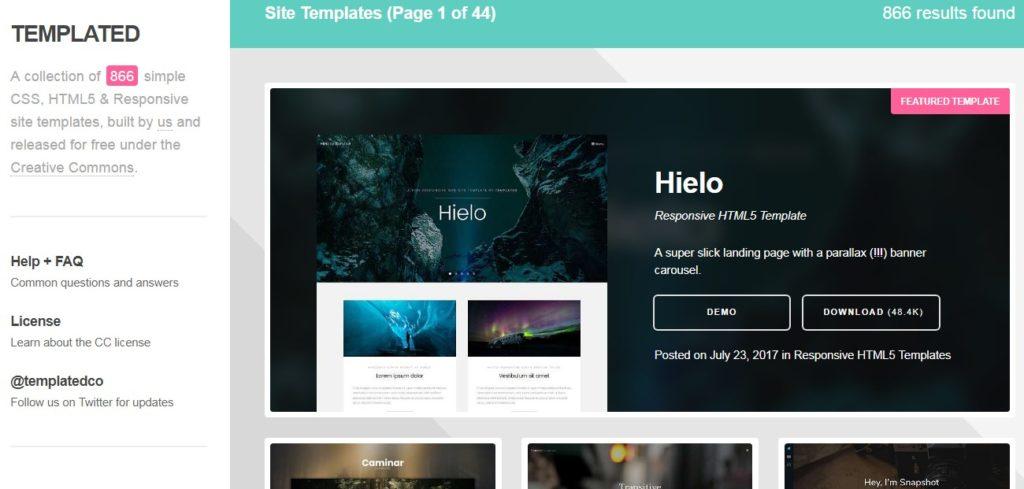 Website Penyedia Template Web Gratis Berkualitas 5