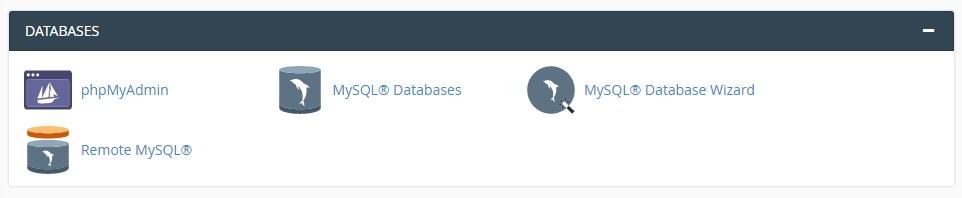 MySQL Database cpanel hosting