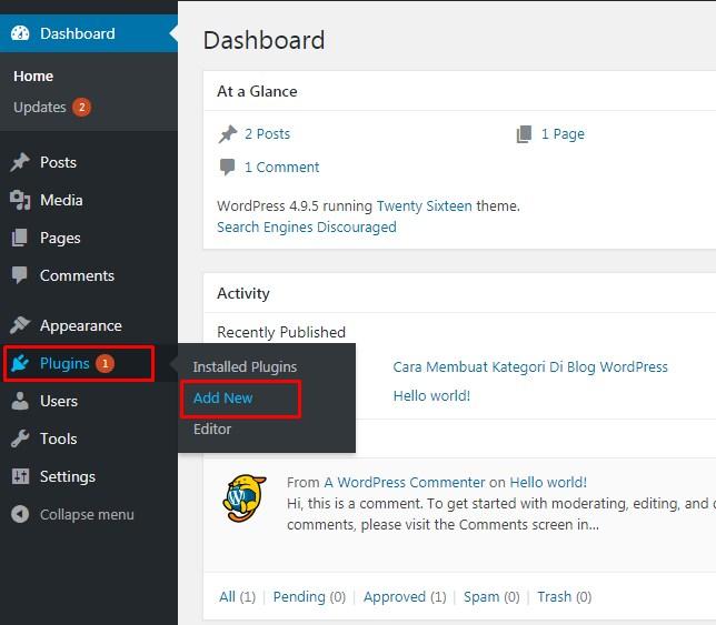 Cara Membuat Header Slideshow Pada Wordpress