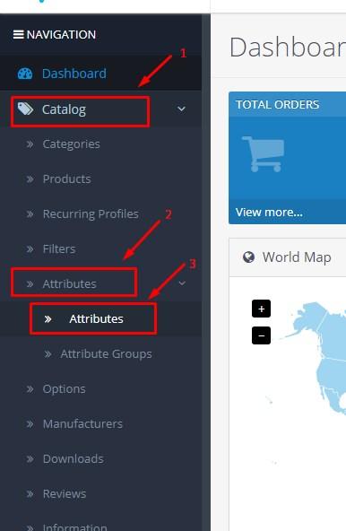 Cara Menghapus Atribut Produk Di Opencart 1
