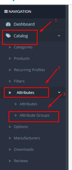 Cara Menambah Atribut Produk Di Opencart 1