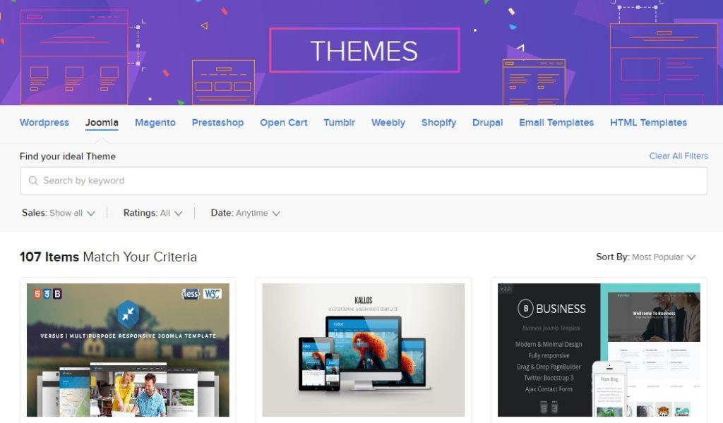 Produk Baru Webhostingallinone Website Themes