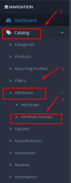 Cara Menghapus Atribut Produk Di Opencart 3