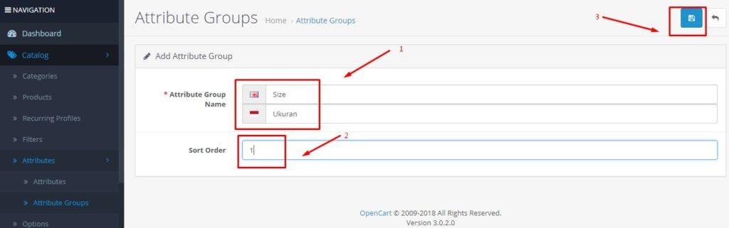 Cara Menambah Atribut Produk Di Opencart 3