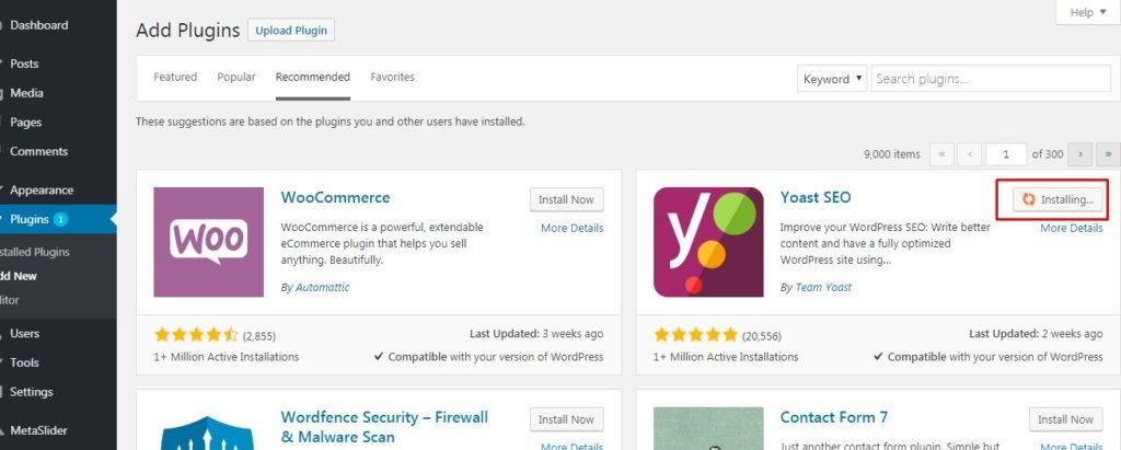 Cara Install Plugin WordPress Dari Direktori Plugins Melalui Dashboard 6