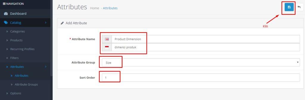 Cara Menambah Atribut Produk Di Opencart 6