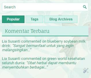 Cara Menampilkan Komentar Terbaru di Blogger  6