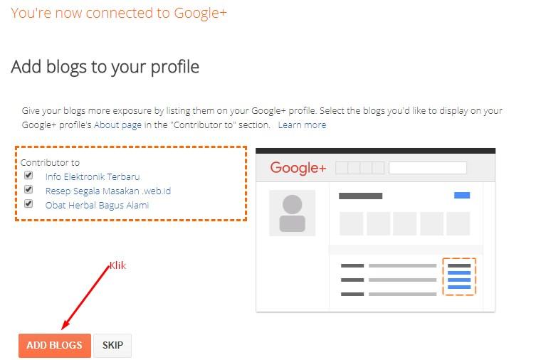 Cara Membagikan Postingan ke Google Plus di Blogger 6