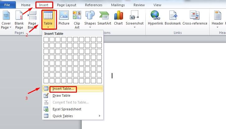 Cara Membuat Tabel di Postingan Blog Menggunakan Microsoft Word 1