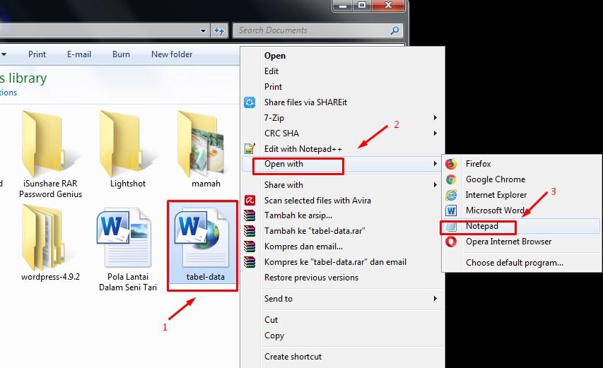 Cara Membuat Tabel di Postingan Blog Menggunakan Microsoft Word 7