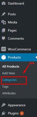 Cara Tambah Kategori Produk Di WooCommerce 2