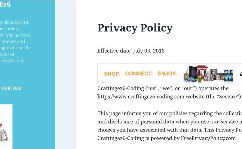 Cara Memasang Privacy Policy Di WordPress
