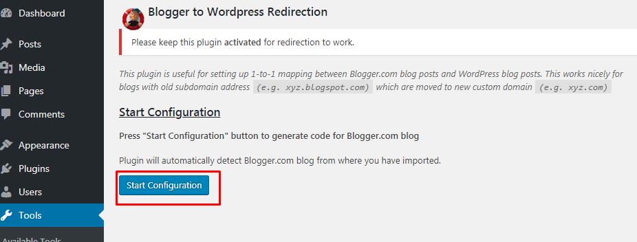 Cara Import Blogspot Ke WordPress 10