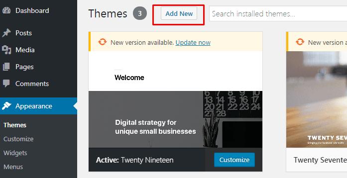 Cara Install Theme Baru Pada WordPress 2