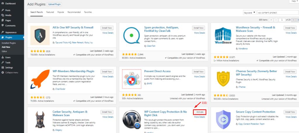 Cara Supaya Artikel Website WordPress Tidak Bisa di Copy Paste 5