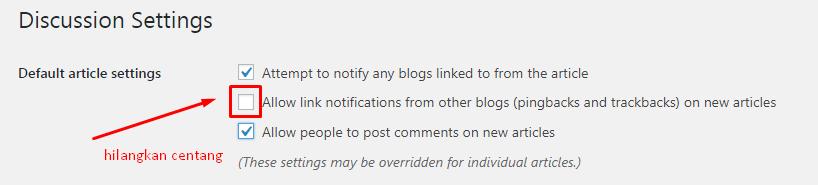 Cara Menonaktifkan Komentar di WordPress 8