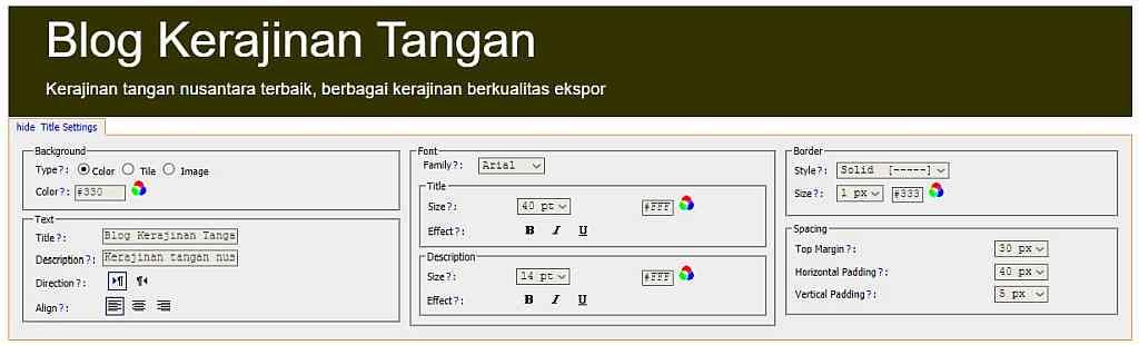 Pengaturan Judul | gambar screenshot dari psyc.horm.org