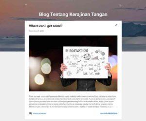 Template asal belum diganti Upload Template Blogger